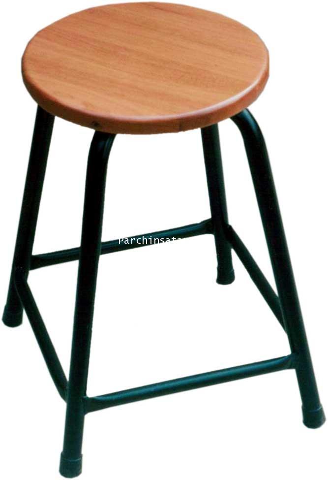B9 เก้าอี้กลมประกอบโต๊ะปฎิบัติการ