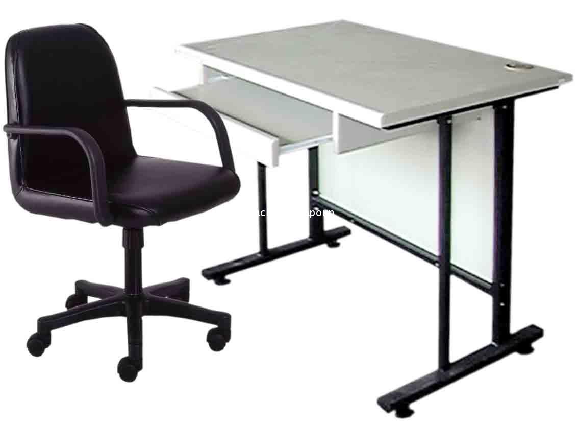 S23 โต๊ะคอมพิวเตอร์พร้อมเก้าอี้