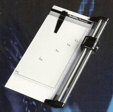 เครื่องตัดกระดาษโรต้าทริมROTATRIMPROFESSIONAL