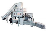 HSM Duo Shredder 5750 Paper Shredding and Bailling System