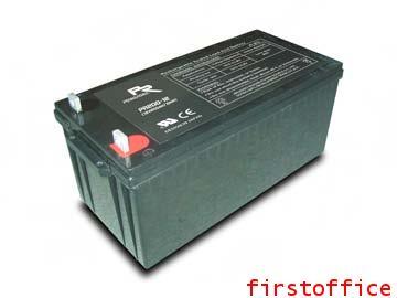 แบตเตอรี่แห้งยี่ห้อPoweroad PR200-12 (12V 200Ah)