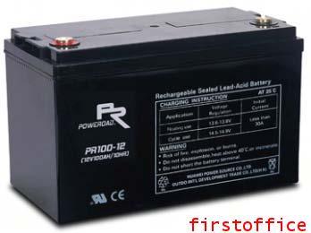 แบตเตอรี่Poweroad PR100-12 (12V 100Ah)