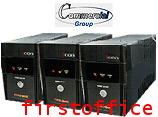 Iเครื่องสำรองไฟฟ้า (UPS) SYNDOME รุ่น iCON-800