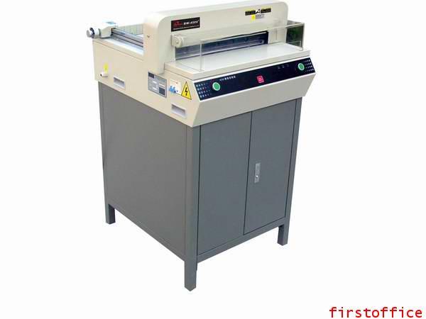 เครื่องตัดกระดาษไฟฟ้า first cut รุ่น BW-450V3