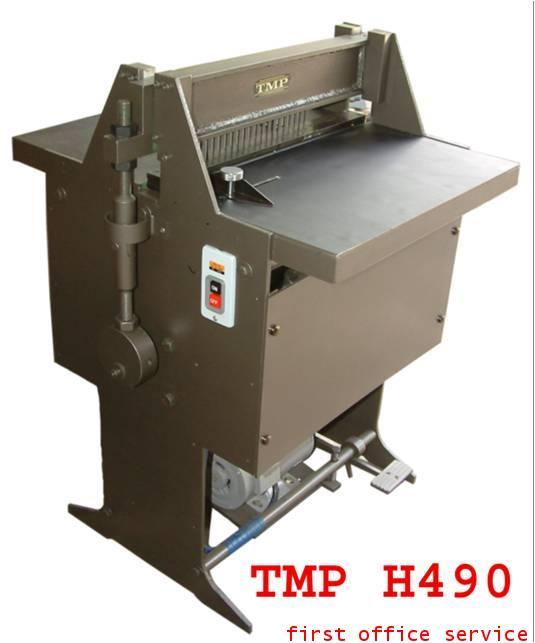 เครื่องเจาะไฟฟ้าทำปฎิทิน,ไดอารี่TMP รุ่น H-490
