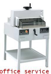 เครื่องตัดกระดาษระบบไฟฟ้ายี่ห้อIDEALรุ่น4810-95 (19นิ้ว)