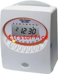 นาฬิกาบันทึกเวลา SEIKO รุ่น QR-6550