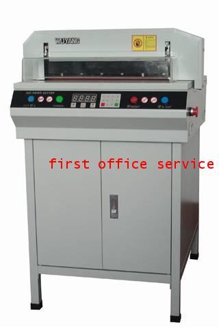 เครื่องตัดกระดาษไฟฟ้า First cut รุ่น 450VS+ Digital Display (auto)