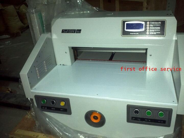เครื่องตัดกระดาษไฟฟ้า First cut รุ่น 520H