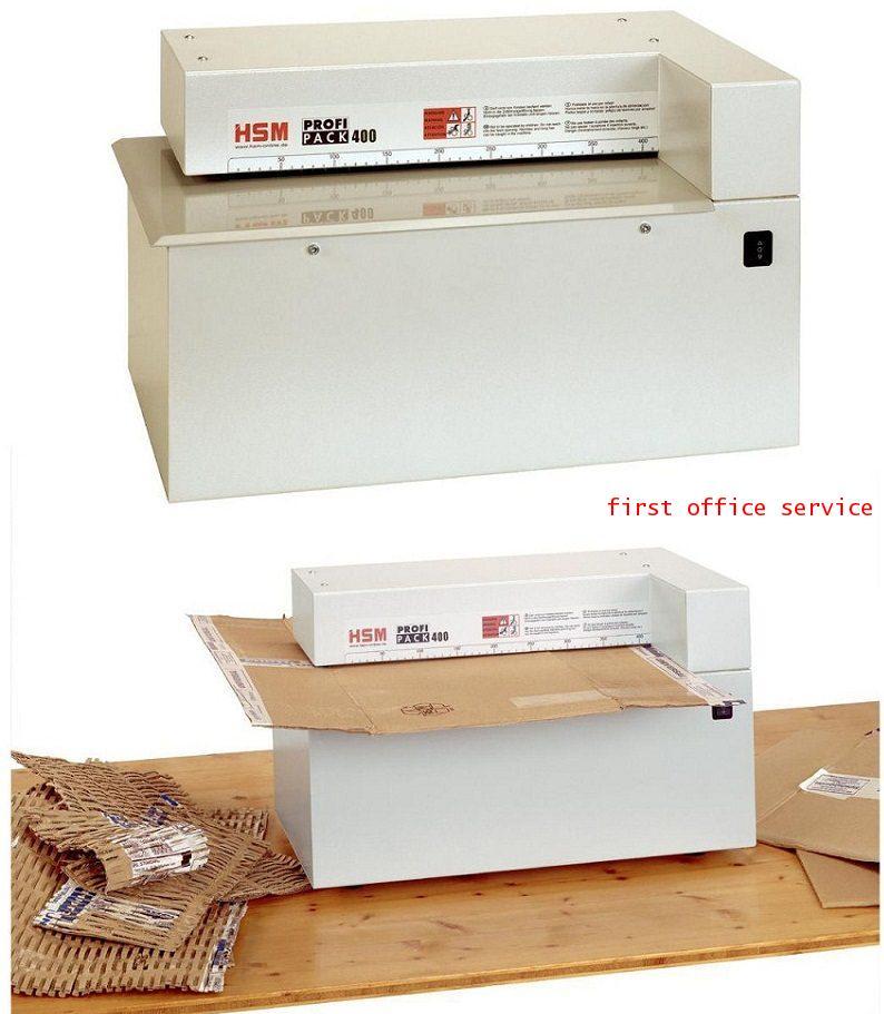 เครื่องปรุกล่องกระดาษ กระดาษแข็ง HSM ProfiPack 400