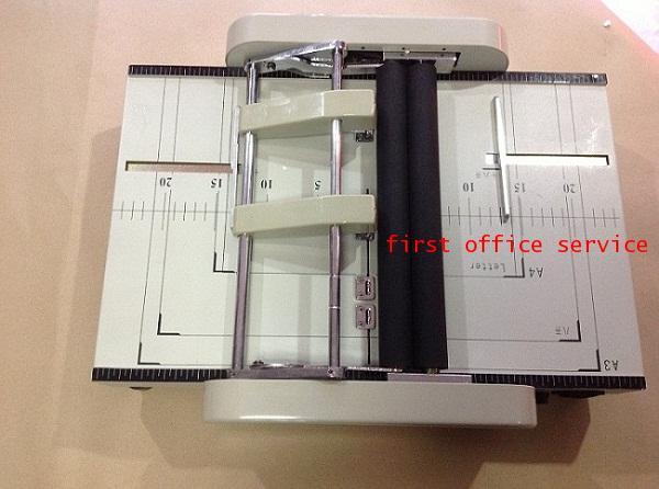 เครื่องเย็บกระดาษกลางเล่ม-พับแบบไฟฟ้าอัตโนมัติ
