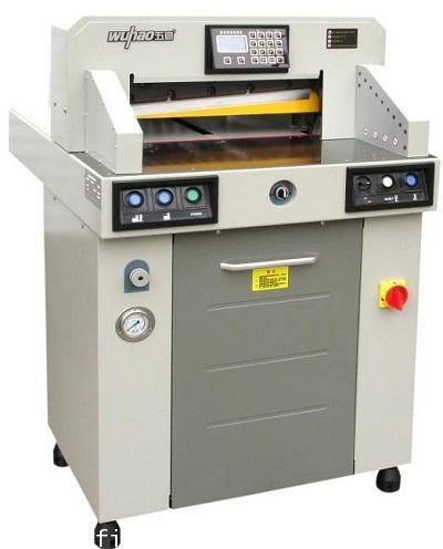 เครื่องตัดกระดาษไฟฟ้า-ไฮโดรลิค First cut รุ่น 6700H