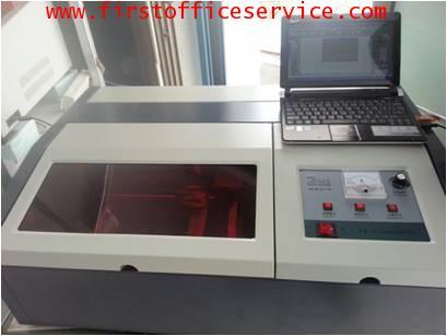 เครื่องทำตรายางเลเซอร์ Firstรุ่น CB 3050 ได้มาตรฐาน ISO งานคุณภาพ เกรด A