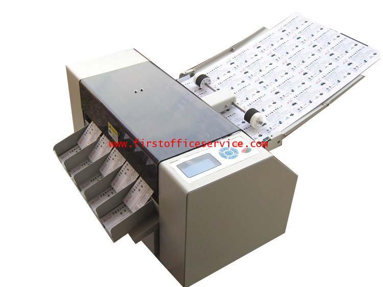 เครื่องตัดนามบัตรไฟฟ้าอัตโนมัติยี่ห้อFirstรุ่นA3+