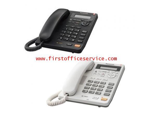 โทรศัพท์ สีดำ Panasonic KX-TS620BXB
