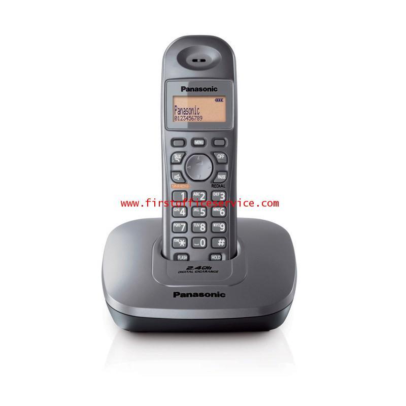 โทรศัพท์ไร้สาย (เมทัลลิค) Panasonic KX-TG3611BXM