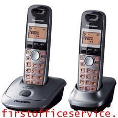 โทรศัพท์ไร้สาย เมทัลลิค Panasonic KX-TG3552BXM