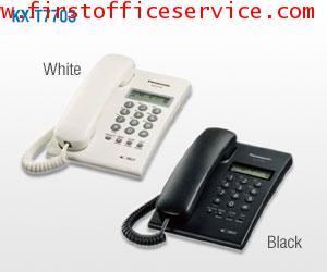 โทรศัพท์ตั้งโต๊ะ สายเดี่ยว PANASONIC รุ่น KX-T7703