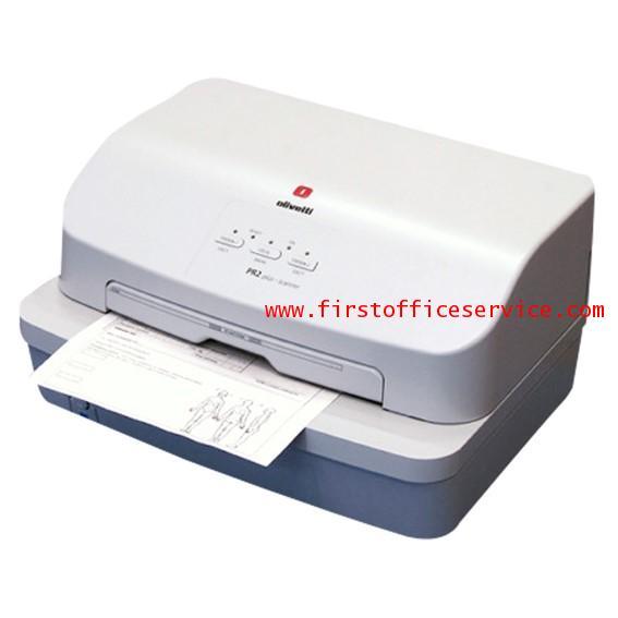 เครื่องพิมพ์สมุดบัญชีและเช็ค Olivetti รุ่น PR2 Plus (สีขาว)