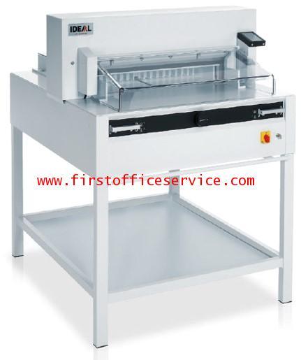 เครื่องตัดกระดาษระบบไฟฟ้าIDEALรุ่น 6655