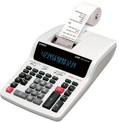 เครื่องคิดเลขแบบพิมพ์คาสิโอ DR-240TM 14 หลัก