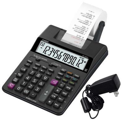เครื่องคิดเลขแบบพิมพ์ คาสิโอ HR-100RC+AD
