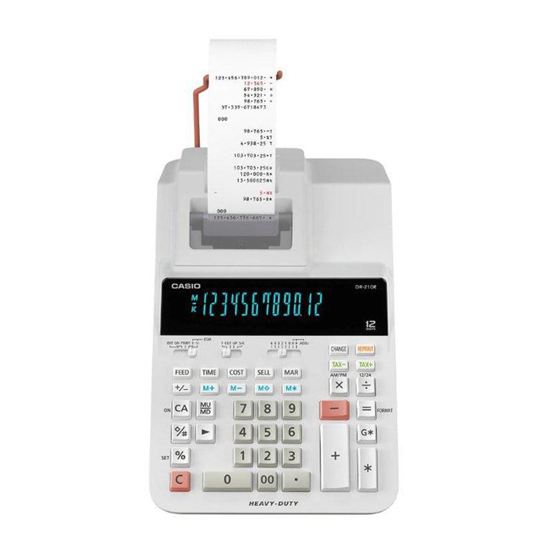 เครื่องคิดเลขแบบพิมพ์ คาสิโอ DR-210R