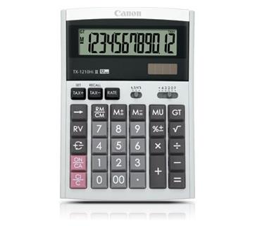 เครื่องคิดเลข Canon WS-1210Hi lll