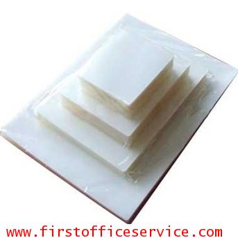 พลาสติกเคลือบบัตร100ไมครอน A3 (100 แผ่น)