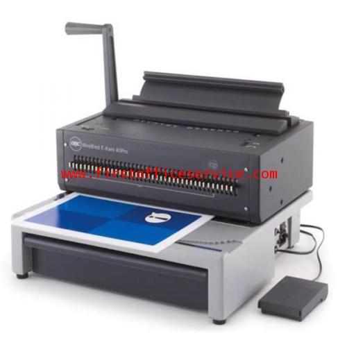 เครื่องเข้าเล่มขดลวดระบบไฟฟ้ายี่ห้อibico/GBC WireBind Karo40pro Binder