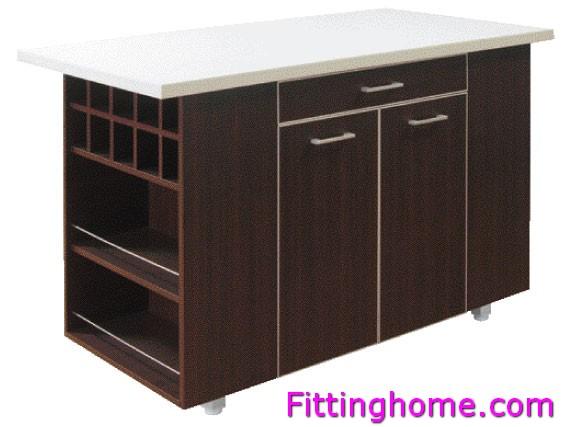 โต๊ะกลางครัว 150 ซม. (มีถาดที่วางอุปกรณ์)