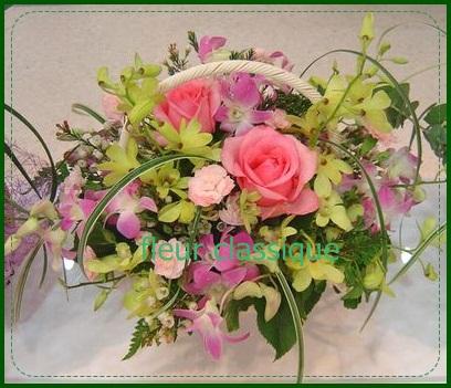 กระเช้า(flower basket)