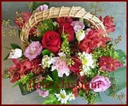 กระเช้าดอกไม้(flower basket)