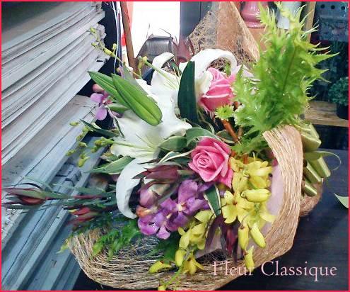 ช่อดอกไม้รวม (bouquet)