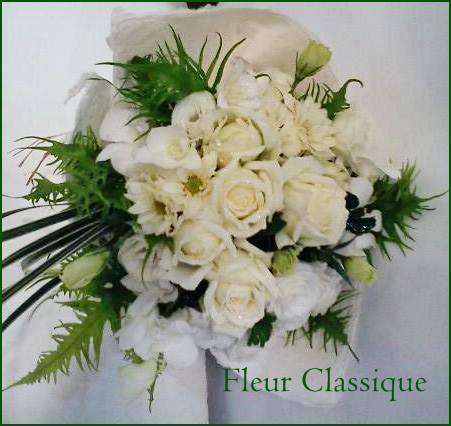 ช่อดอกไม้ขาว (bouquet) 2