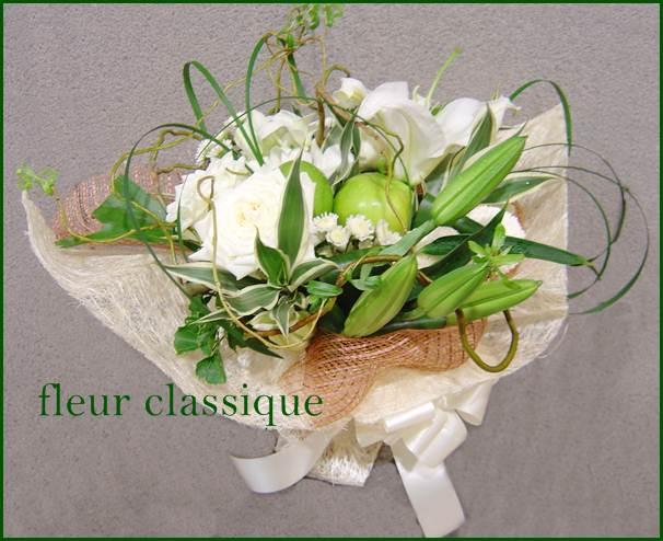 ช่อดอกไม้สไตล์ธรรมชาติ(bouquet) 1