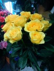 ช่อดอกกุหลาบรวมสี 50 ดอก(mix rose bouquet) 1