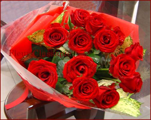 ช่อกุหลาบ (roses bouquet)