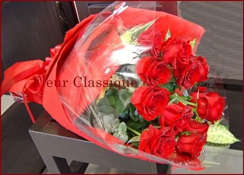 ช่อกุหลาบ (roses bouquet) 1