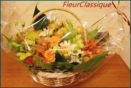 ดอกไม้ในกระเช้า (flower basket)