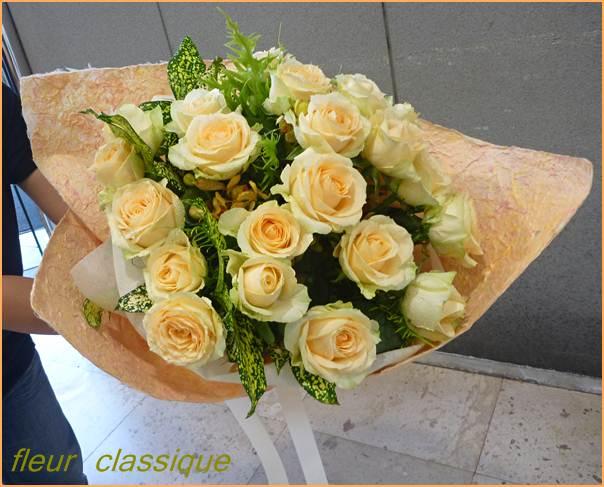 ช่อดอกกุหลาบ 20 ดอก (rose bouquet)