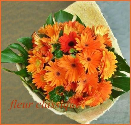ช่อดอกเยอบีร่า (bouquet) 1