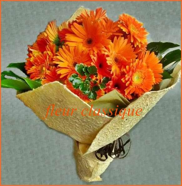 ช่อดอกเยอบีร่า (bouquet) 2