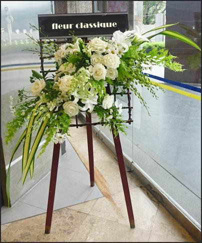พวงหรีดดอกไม้ wreath