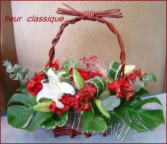 ของขวัญเปิดบริษัท flower basket