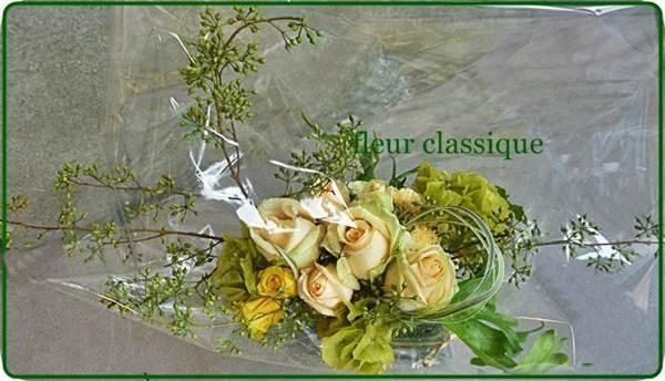 แจกันแก้วกับดอกไม้ vase flower 1
