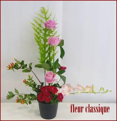 จัดแจกันสไตล์แบบญี่ปุ่น vase flower