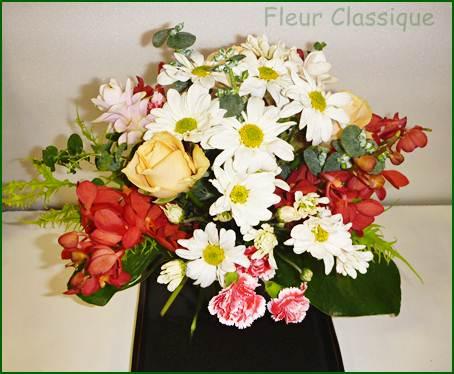 ช่อดอกไม้บนแจกัน bouquet