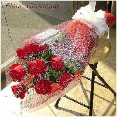 กุหลาบแดง วันวาเลนไทน์ rose bouquet