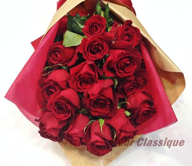 กุหลาบแดง วาเลนไทน์ rose bouquet